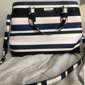 🔥💥♥️ Striped Kate Spade Summer Bag 🔥💥
